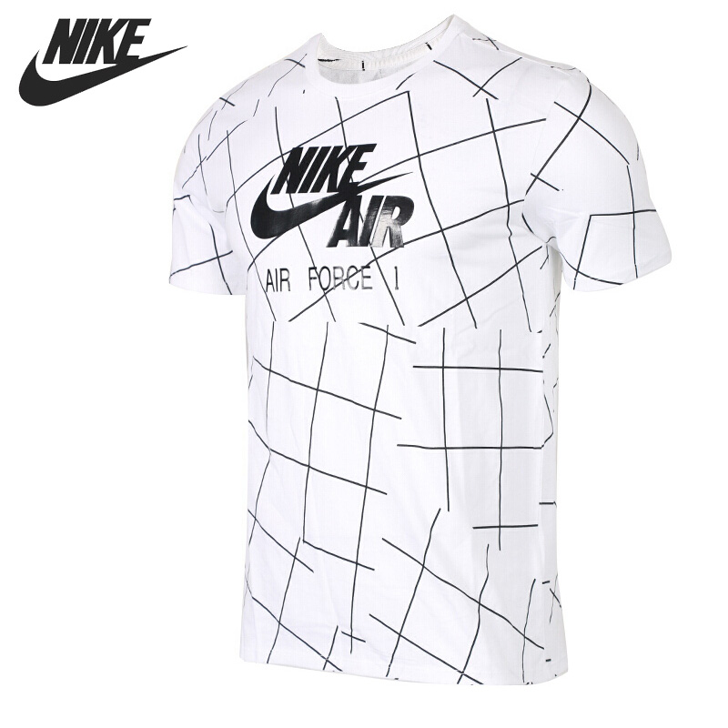 Original New Arrival 2018 NIKE AS M NSW TEE AF1 Men's T-shirts short sleeve Sportswear original new arrival 2017 nike as m nk dry tee db st bm 1 men s t shirts short sleeve sportswear