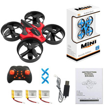 Mini UFO RC Drone Pocket Quadcopter vs JJRC H36 2.4G Remote Control 6-Axis Headless Mode RC Helicopter(China)