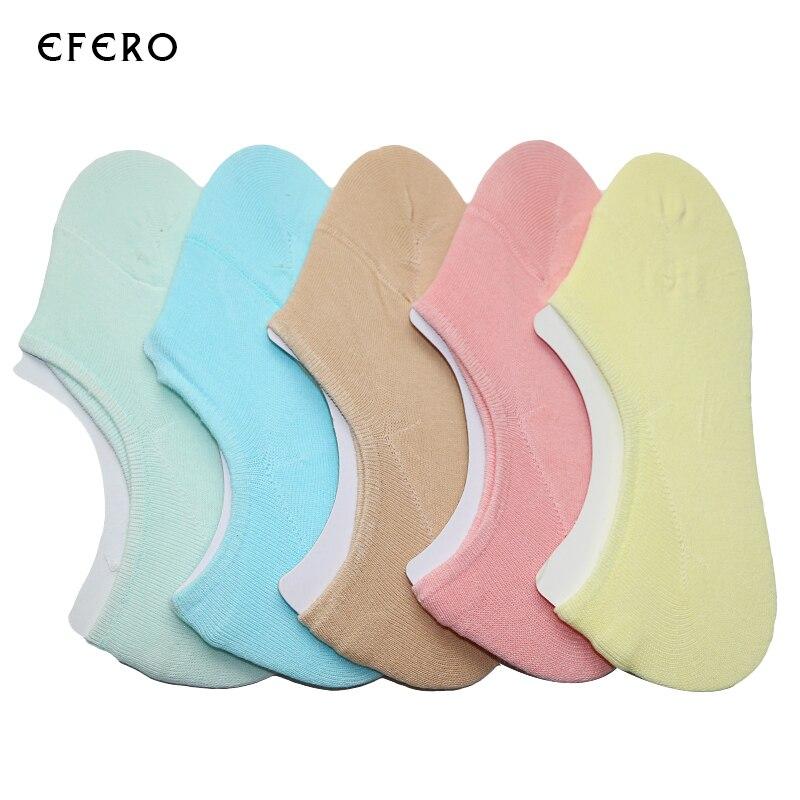 meilleure sélection befbf 79783 7 paires de haute qualité sans chaussettes Femme invisibles ...