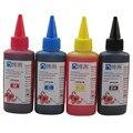Универсальный 4 цвета краситель чернила для принтеров EPSON Премиум 100 мл 4 цвета чернила BK cm Y для EPSON All принтер СНПЧ чернила - фото