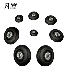 Replacement Suitcase Wheels Luggage PVC Wheel Factory direct sale Axles Deluxe Repair Tool  Casters