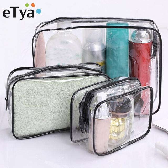Travel Transparent Cosmetic Bag PVC