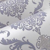 Papel De Parede Gorgeous Victorian Damask Pattern Style Flocking Non Woven Wallpaper Rolls 5 Colors Bedroom