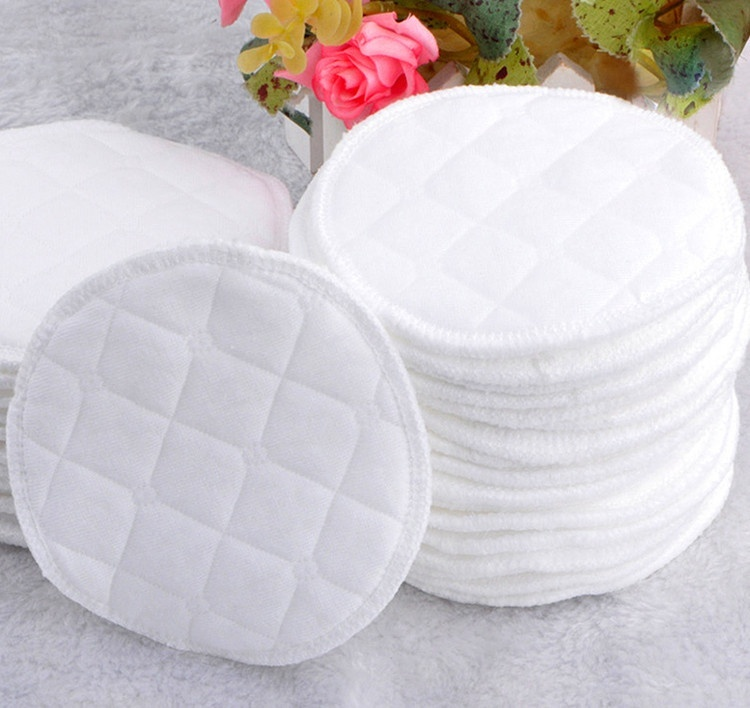 12pcs Reusable Ecological Cotton Breastfeeding Pads Nursing Pads Reusable Nursing Breast Pads Washable Absorbent Baby-15