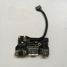 Genuine Laptop I/O USB Power Audio Board 820-3455-A DC Jack 923-0439 For MacBook Air 13″ A1466 2013 2014 2015