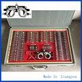 Julgamento Lens Set 266 pcs Lente Caixa de Provas JS-266 Case De Alumínio Aro De Alumínio Uma Qualidade da Classe