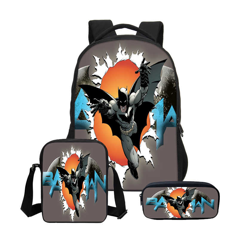Detail Feedback Questions about VEEVANV Batman Boys School Backpacks ... d645f29e4bcd2