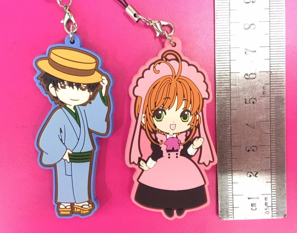 Card Captor Sakura Tomoyo Mini Rubber Strap NEW