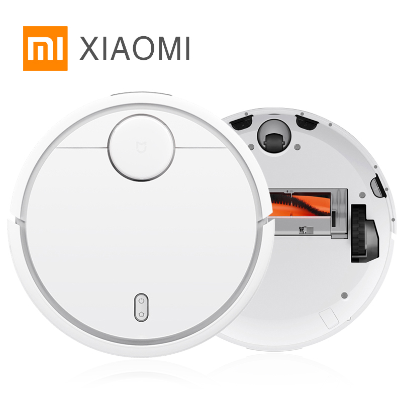 все цены на 2017 New Original XIAOMI MI Robot Vacuum Cleaner for Home Filter Dust Sterilize Roller brush Smart Planned Phone Remote Control онлайн