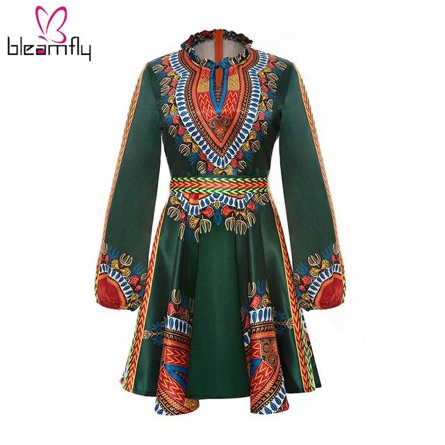 aliexpress : buy african dresses for women bow belt long