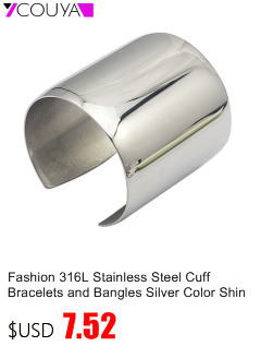 bd4f58fa669 COUYA Gold Color Cuff Bangle Bracelet For Women Men Shiny Pulseiras Para  Wrist Cuff Bracelet Metal Bracelets & Bangles A10050