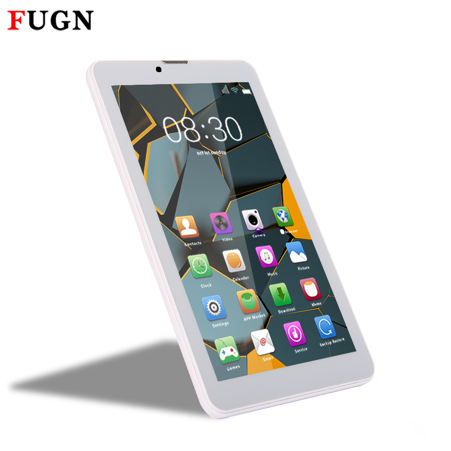 FUGN 7 inch Kids Tablet Android PC 512MB RAM 16GB ROM Dual Cameras GPS Wifi 3G Phone Call Tablets with Keyboard 8 9.7 10''