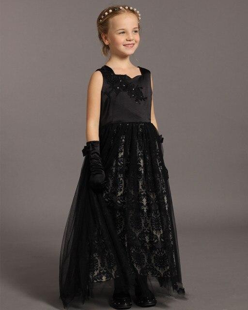 High Grade Customize American Big Children Girls Prom Dresses Luxury