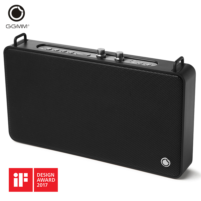 GGMM E5 Wireless Bluetooth Speaker WiFi Speaker 20w Portable with Bass for iPhone Android Computer Support
