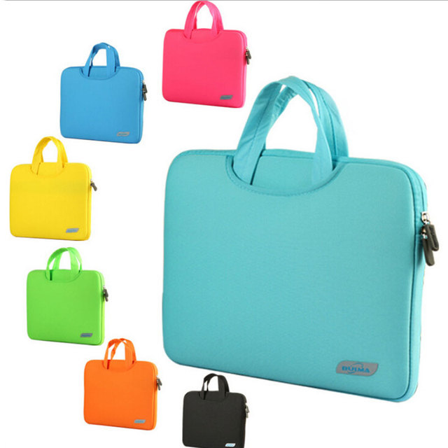 """12,13, 15 дюймов Чистый цвет ноутбука laptop sleeve сумка для 11.6 """"12"""" 13.3 """"15.4"""" Macbook Pro Воздуха Сетчатки BAG20-BULMA"""