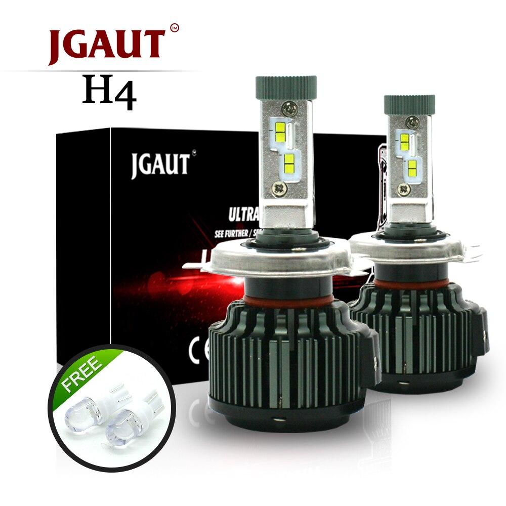 JGAUT T2 Auto FÜHRTE Scheinwerferlampen H7 H11 9005 9006 72 Watt 8400LM H4 H13 9007 Hohe Abblendlicht Umbausatz Automobil