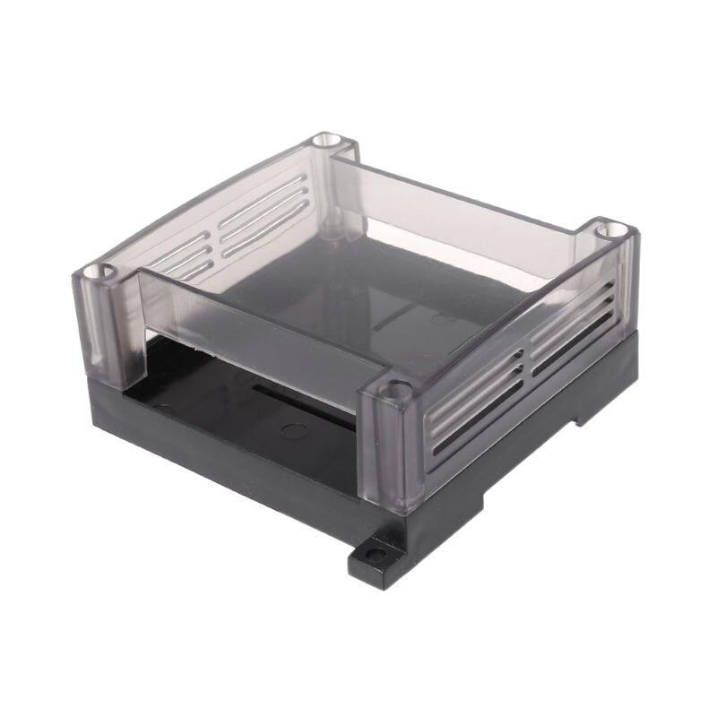 transparent-plastic-plc-industrial-control-box-panel-plc-enclousure-case-diy-pcb-shell-hol