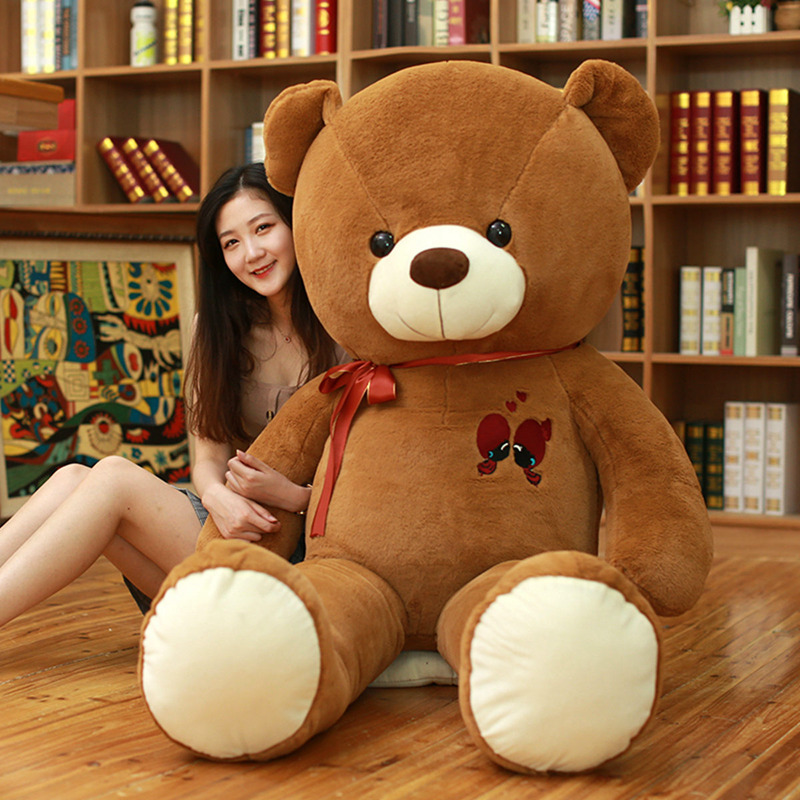 Image 3 - 1PC Large Teddy Bear Plush Toy Lovely Giant Bear Huge Stuffed Soft Dolls Kids Toy Birthday Gift For Girlfriend-in Stuffed & Plush Animals from Toys & Hobbies