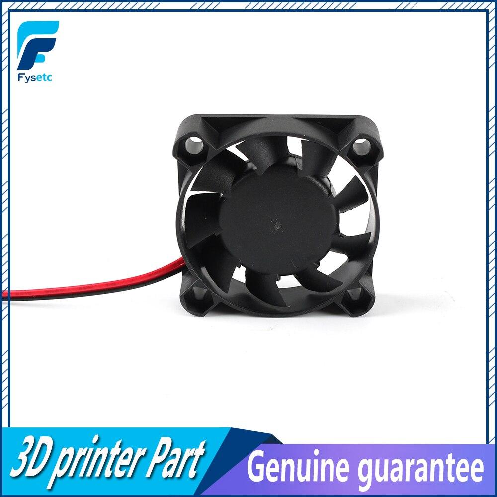 6Pcs 3D Printer Cooling Blower Fan DC 5V 50 x 50 x 15mm 5015 Blow Radial Cooling Fan 2Pin Accessories Hot End Extruder for RepRap i3 3D Printer Cooler Heat Sinks
