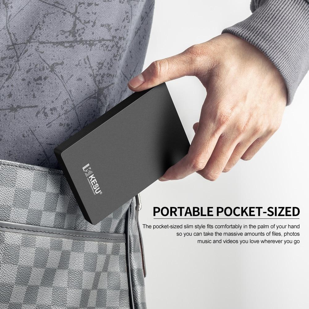 Portable External Hard Drive Black (7)
