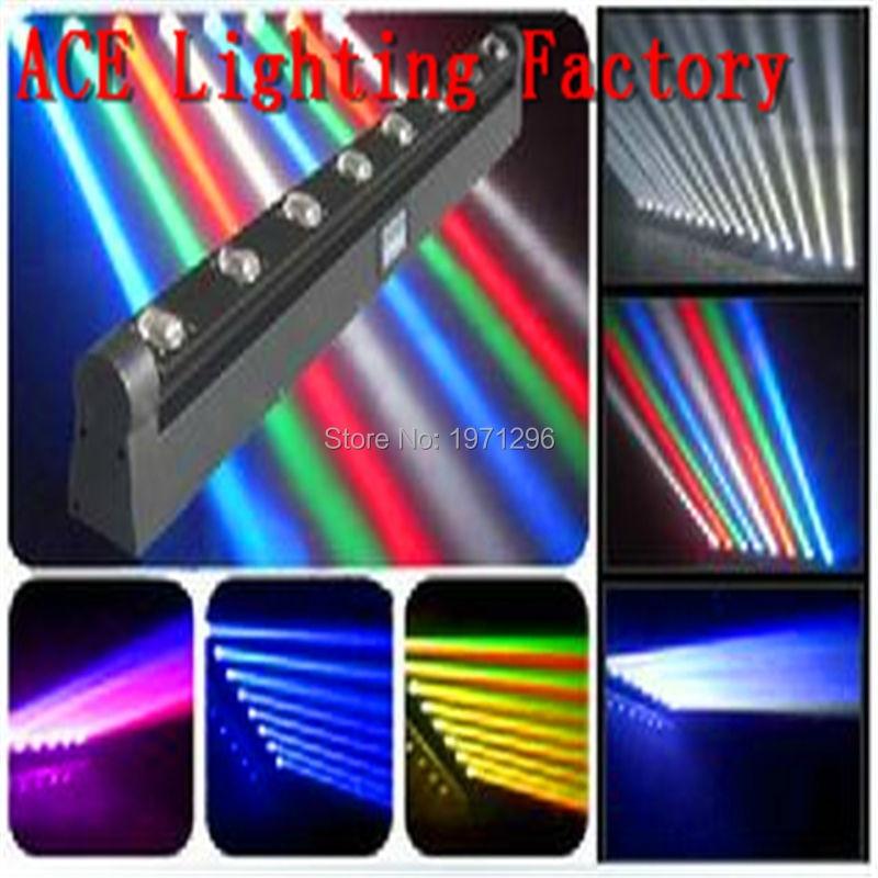 Free&Fast Shipping LED Beam Bar RGBW/LED Gun 8x12W Beam Moving Head Light Bar good quality
