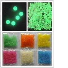 5000pcs Grow in the Dark Noctilucent Crystal Soil Mud Water Bead Fluorescent balls Elves Orbiz Star Bottles