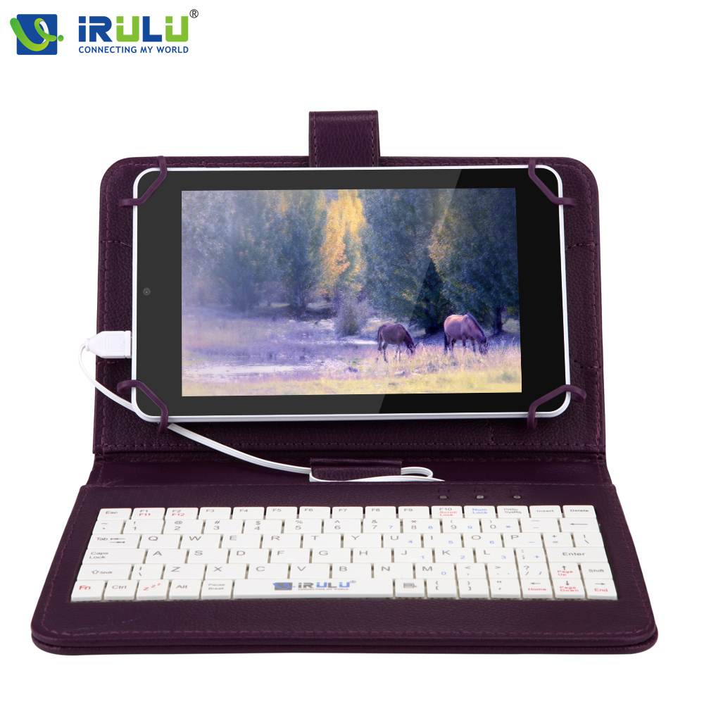 iRULU eXpro X4 7'' IPS 1280*800 Android 5.1 Tablet PC Quad Core Dual Camera 1G+16G support Bluetooth Wifi w/EN Keyboard Case планшет irbis tz82 4 1 3ггц 1гб 8гб 8 1280 800 ips wifi bluetooth gps 3g android 4 4 черный