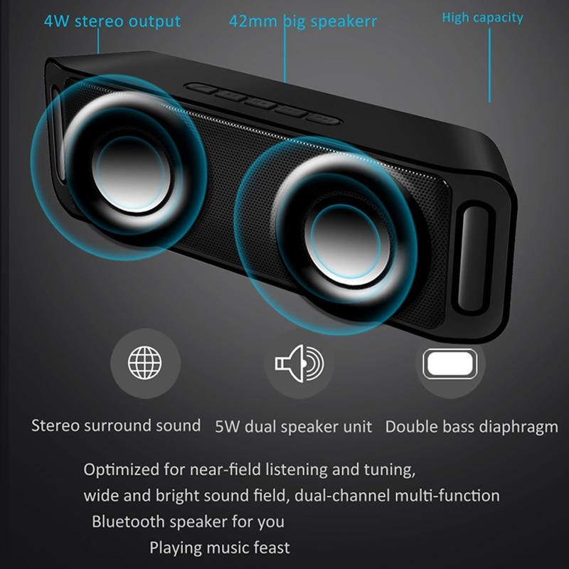 LIGE Bluetooth Speaker Wireless Portable Stereo Sound Big Power 1
