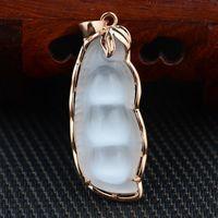 [Argento] deer re ciondolo opale pisello s925 silver rose doratura elettrolitica mestiere delle donne all'ingrosso