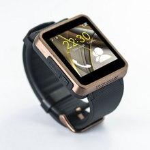 2016 neue Ankunft wasserdichte Bluetooth Smart Uhr F1 Smartwatch Sync SMS Facebook Schrittzähler für iOS und Android Smartphone