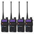 4Pcs BaoFeng UV-5R Walkie Talkie Dual Band VHF/UHF136-174Mhz & 400-520Mhz Handheld Baofeng uv5r Two Way Radio