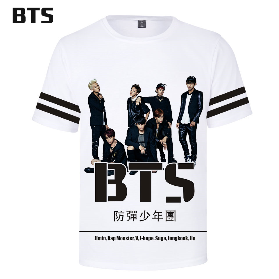 6ac419387961 Detail Feedback Questions about BTS Kawaii 3D TShirt Love Yourself Harajuku T  shirts Women Clothes 2018 Short Sleeve Kpop Print Tops Tees Plus Size Q0331  ...