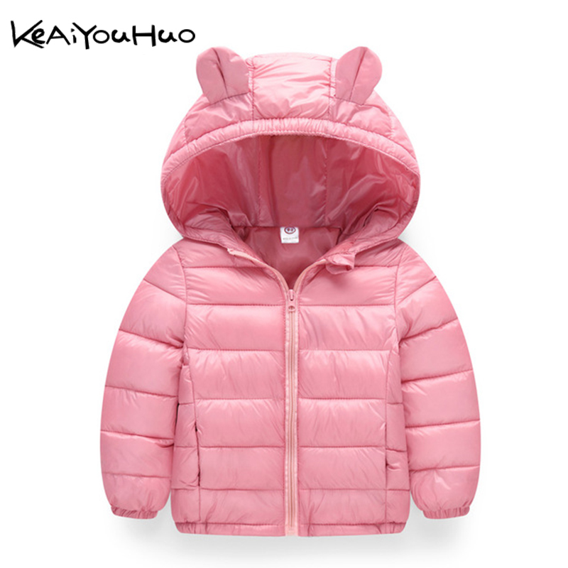 Jackets Outerwear Girls Coats Hooded Warm Baby-Girls Autumn Winter