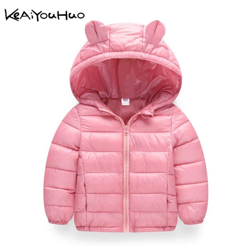 2019 Herfst Winter Warm Jassen Voor Meisjes Jassen Voor Jongens Jassen Baby Meisjes Jassen Kids Hooded Bovenkleding Jas Kinderen Kleding Straatprijs