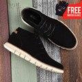 OSCO PUBG fábrica directa toda la temporada nuevos estilos diseño botas moda suela vaca gamuza superior cómodas botas # MB00801W