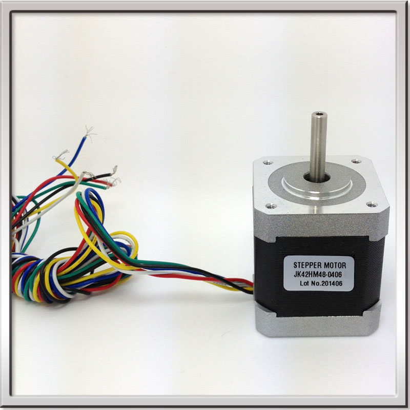 0 9 Degree 42mm Free Shipping 2 Phase Hybrid Stepper Motor Nema17 Bipolar Step Motor Cheap