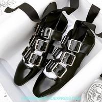 Мягкая кожа Женские туфли лодочки пряжки на шнуровке с квадратным носом балетки на плоской подошве Летние мокасины zapatos mujer пикантные с пере