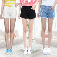 New Fashion Women S Jeans Summer Stretch Denim Shorts Slim Korean Casual Women Jeans Shorts