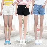 New Fashion Women S Jeans Summer Stretch Denim Shorts Slim Korean Casual Women Jeans Shorts