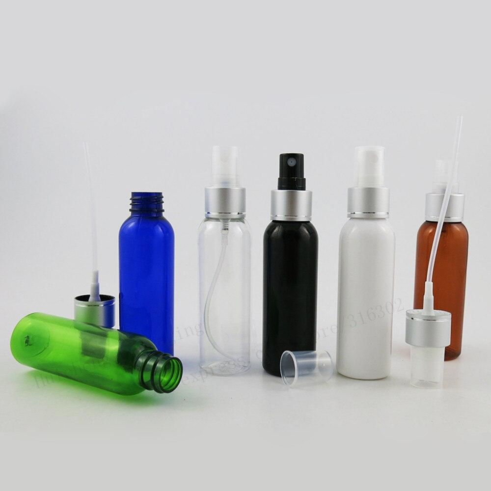50 X 60ml Refillable Travel Pet Plastic Perfume Bottle Atomizer 2oz plastic Fragrance Cosmetic Perfume Container