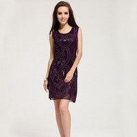Europa hoge kwaliteit fashion jurken ontwerpers paars formele jurk kopen LM6022