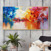 100% Hand Painted Abstract Scenery High quality Art Painting On Canvas Wall Art Wall Adornment Pictures Painting For Home Decor