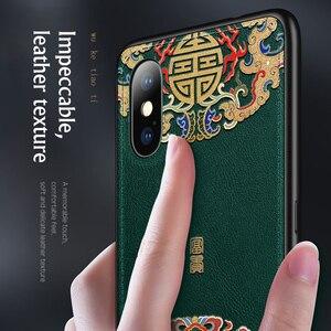 Image 4 - Da Cao Cấp Cứu Trợ Hoa Văn Dành Cho iPhone 11 Pro XS Max XR X SE Mới Silicone Mềm Dành Cho iPhone 7 8 6 6S 6S Plus Vỏ