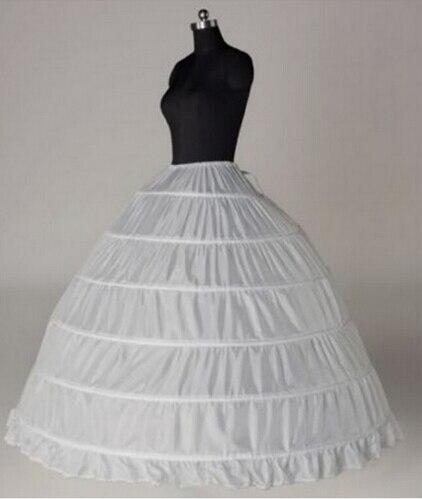 2016 Cheap Ball Gown Petticoat Big 6 Hoops Hot Sale