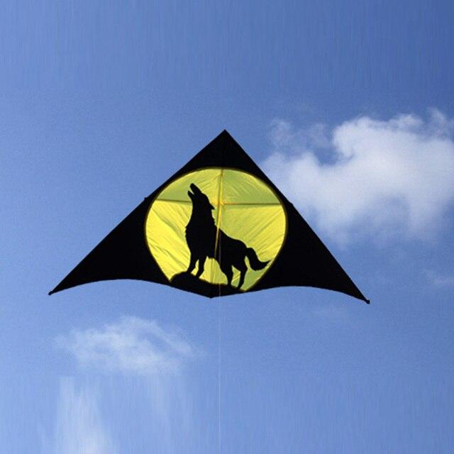 Venda quente Lobo Resina Hastes Volant Rainbow Rainbow Pipa Pipa Brinquedos Ao Ar Livre Kites Pipas Voadores Vela Surf Esportes de Praia