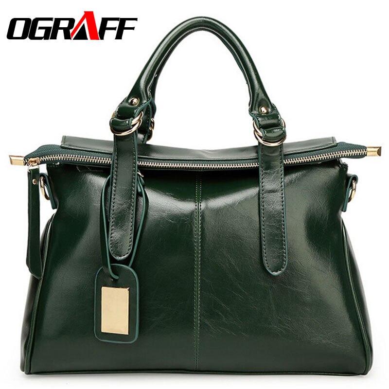 OGRAFF 2017 Women bag ladies messenger bag dollar luxury price women leather handbags designer famous brand high quality fashion