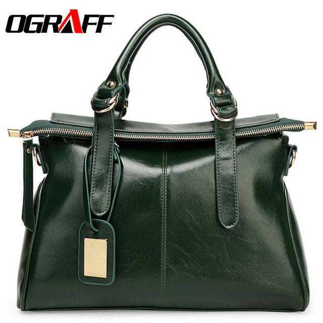 OGRAFF 2017 Women bag ladies messenger bag dollar luxury price women leather handbags designer famous brand high quality fashion
