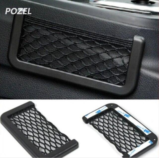 2pcs Car Storage Net Pocket Organizer Bag For Lifan X50 X60 620 320 520  CEBRIUM SOLANO
