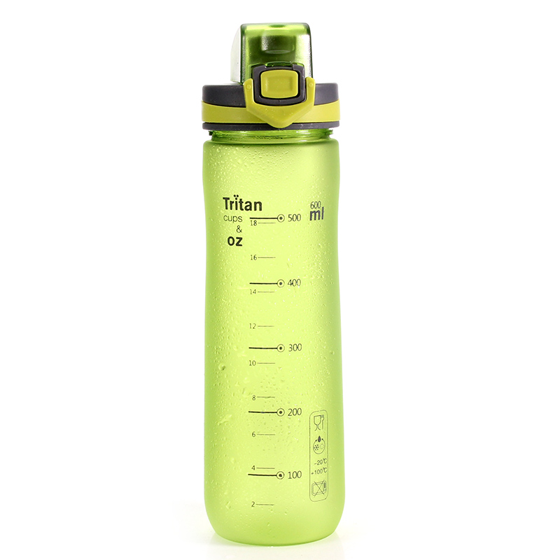 NEW Sports Water Bottle, BPA-Free Eco-Friendly Tritan Plastic, Bottles with Filter, Open with 1-Click - for Gym,Yoga, Running