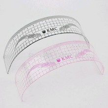 Eyebrow Rulers Tool Measures Microblading Permanent Make Up Eyebrow Tattoo Position Ruler 2 Pcs/lot